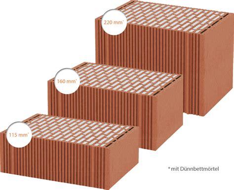 poroton ziegel maße s9 neuer gef 252 llter poroton ziegel mit neuem lochbild f 252 r mehrgeschossbauten