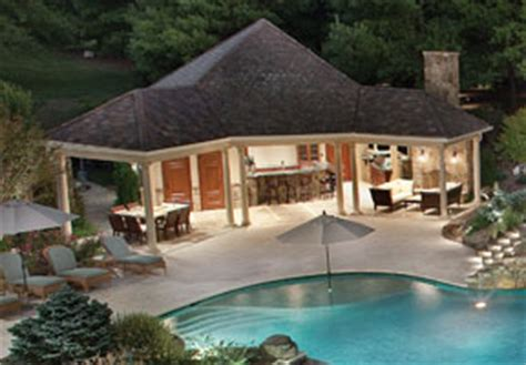pool house designs with outdoor kitchen moonlight serenade aquatic technology pool spa 9146