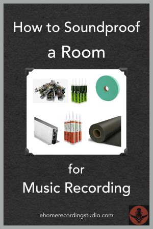 soundproof  room   recording