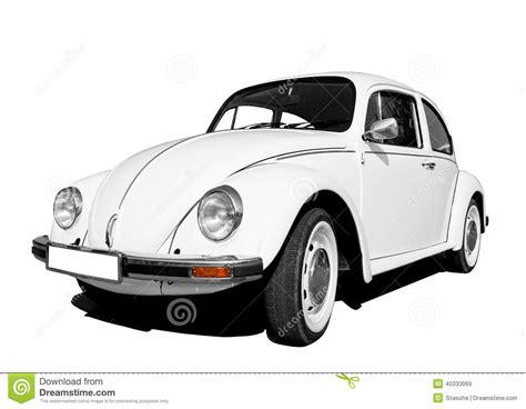 White Volkswagen Beetle Stock Image. Image Of Beetle