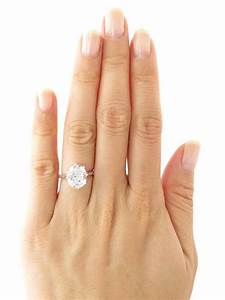 4 carat oval diamond anniversary engagement 8 by With 4 carat wedding rings