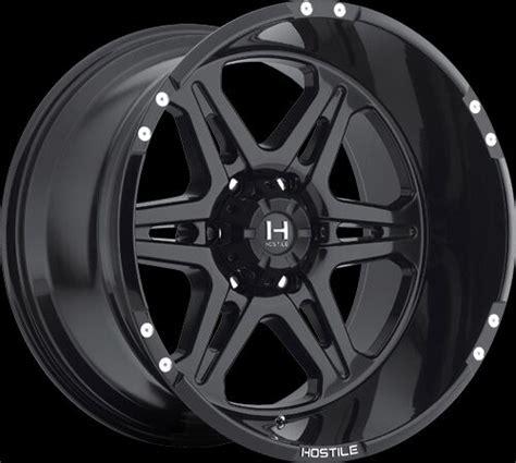 hostile   asphalt black wheels rims ebay
