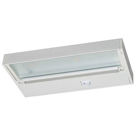 9 quot juno pro led white hardwired undercabinet light
