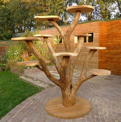 outdoor cat tree ideas  pinterest diy cat