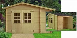 Remise En Bois Pour Jardin : abri de jardin bois avec remise oogarden france ~ Premium-room.com Idées de Décoration