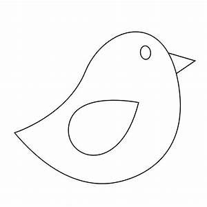 Bird Outline Clip Art - Cliparts.co
