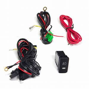 2005-2011 Toyota Tacoma Fog Lights  Wiring Kit Included