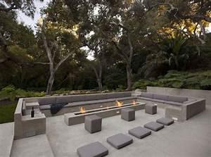 terrasse design 24 modeles de salon encaisse With nice modele de terrasse en bois exterieur 1 amenagement terrasse bois exterieur images
