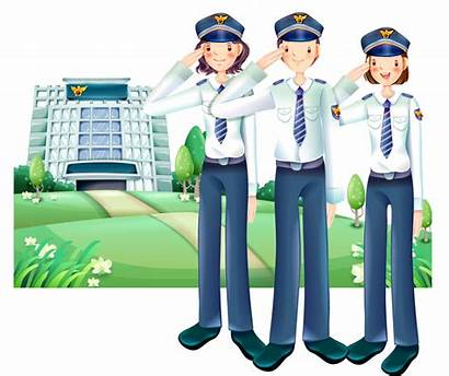 Clipart Salute Policeman Police Transparent Officer Station