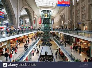 Shoppen In Leipzig : shopping mile so called promenaden in the central station of leipzig stock photo royalty free ~ Markanthonyermac.com Haus und Dekorationen