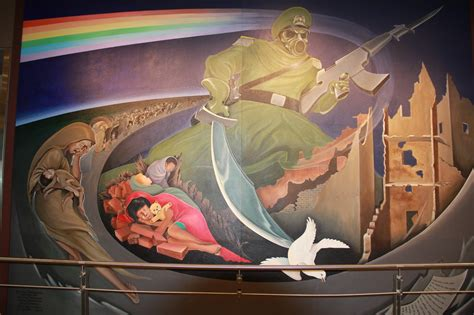 Denver Airport Murals Conspiracy Debunked by Dia Mystery Conspiracy Denver New World Order Conspiracy