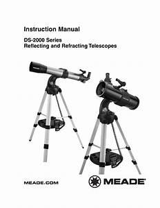 Optus Reflector Telescope Instruction Manual