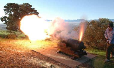 Cannon firing | Friends of Tygerberg Hills