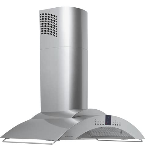 ge monogram  european style wall mounted vent hood zvsy ge appliances