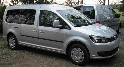 vw caddy maxi vw caddy maxi 4motion technical details history photos