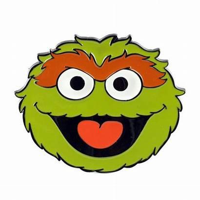 Sesame Grouch Street Elmo Clipart Oscar Head