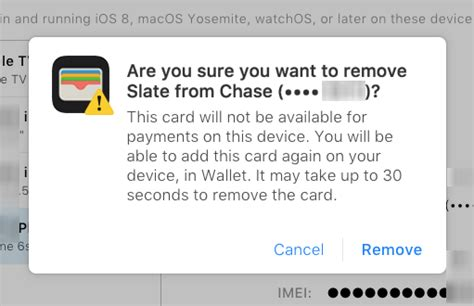 how to remove a credit card from iphone how to remove a credit card from apple pay the iphone faq