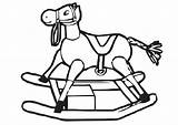 Rocking Horse Coloring Cliparts Library Clipart Printable Clip Pages Edupics sketch template