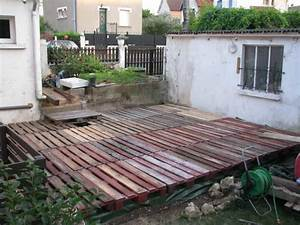 diy pdf tutoriel terrasse en palettes recyclees o 1001 With terrasse