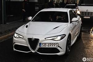 Alfa Romeo Giulia 2016 : alfa romeo giulia quadrifoglio 19 october 2016 autogespot ~ Gottalentnigeria.com Avis de Voitures