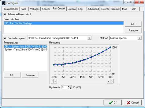 fan control windows 10 speedfan screenshots page