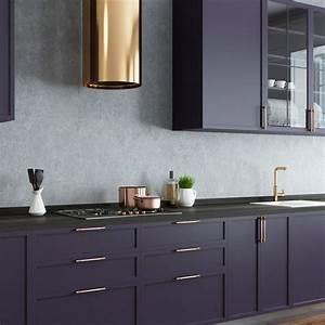 13, Stunning, Dark, Kitchen, Cabinet, Ideas