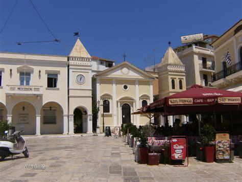 turisti per caso zante zante citta chiesa cattolica di s marco viaggi