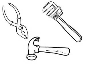 similiar tools coloring pages printable keywords - Tools Coloring Pages Screwdriver