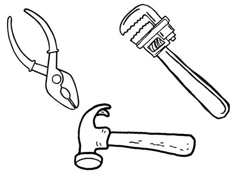 toolbox coloring page construction tool belt tools after you ve checked out