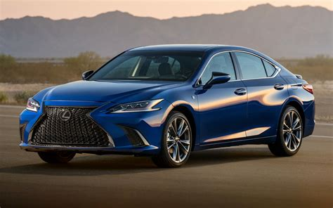 Lexus Es Hd Picture by 2019 Lexus Es F Sport Wallpapers And Hd Images Car Pixel