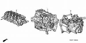 Engine Assy    Transmission Assy  For 2004 Honda Jazz Gd3