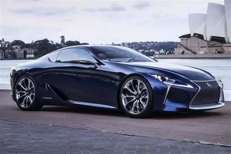 lexus concept coupe lexus lf lc concept to be put into production