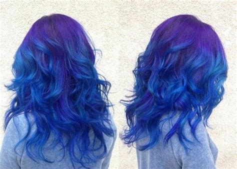 25+ Best Ideas About Blue Purple Hair On Pinterest