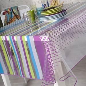 Nappe Transparente épaisse Gifi : toile cir e transparente table de cuisine ~ Dailycaller-alerts.com Idées de Décoration
