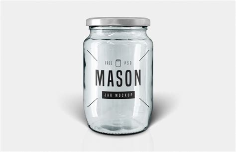 Nail down those first impressions with an amazing collection of cream cosmetic mockups. Free Glass Mason Jar Mockup — Medialoot