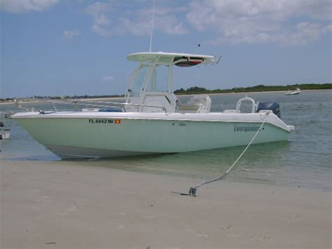 Everglades Boats Name by 2009 Everglades 230cc Offshore The Hull Boating