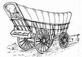 Horse Cart Sketch Drawn Vehicles Caravan Plans Coloring Pages Scale John Gypsy Conestoga Horses Template Wagon Drawing Thompson American Vehicle sketch template