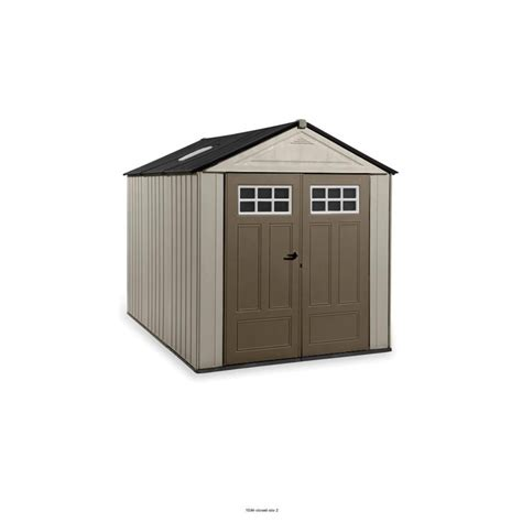 rubbermaid storage shed home depot rubbermaid big max ultra 11 ft x 7 ft shed the home