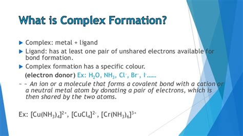 complexation titration 1 1