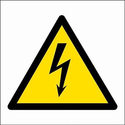 Hazard Electrical Safety Signs Symbol Warning Electricity