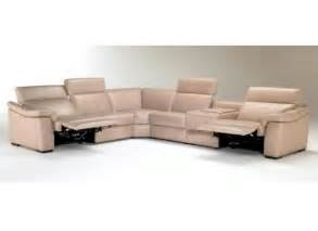 natuzzi editions b760 leather sectional collier s