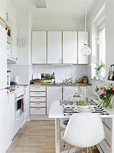 40, Marvelous, Small, Apartment, Kitchen, Remodel, Ideas