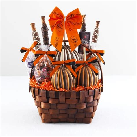 halloween caramel apple gift basket williams sonoma