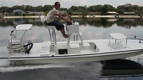 Boat Mini Tower by Flats Tower Fury With Etec 60