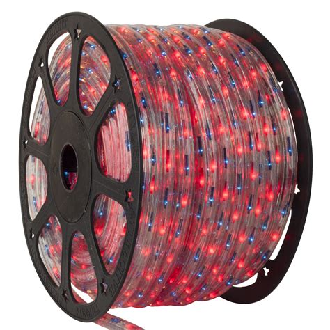 rope light  blue red chasing rope light commercial