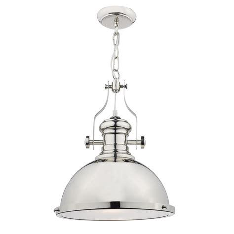chrome pendant light arona polished chrome pendant light nicholas interiors