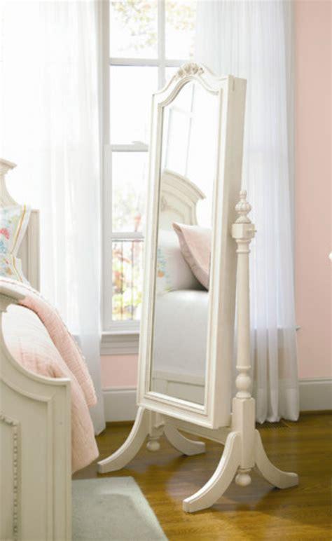 beautiful  elegant white floor mirrors cute furniture