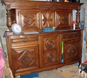 buffet style breton relookeart39eben With les styles de meubles anciens