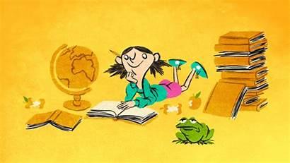 Animation Literature Teaching Lost Break Gifs Frog