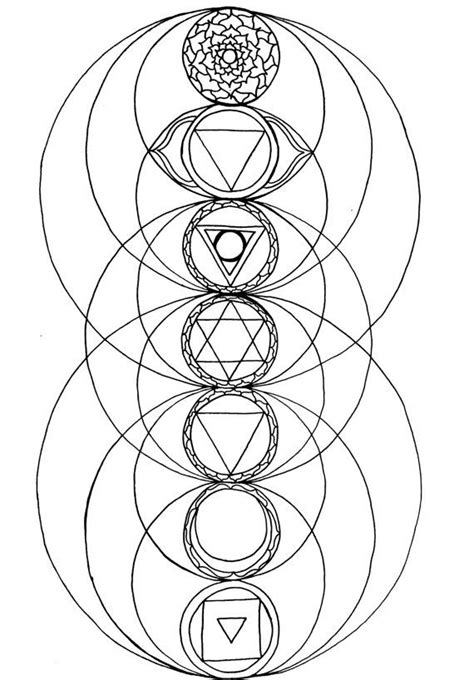 40 best Chakras images on Pinterest | Coloring books